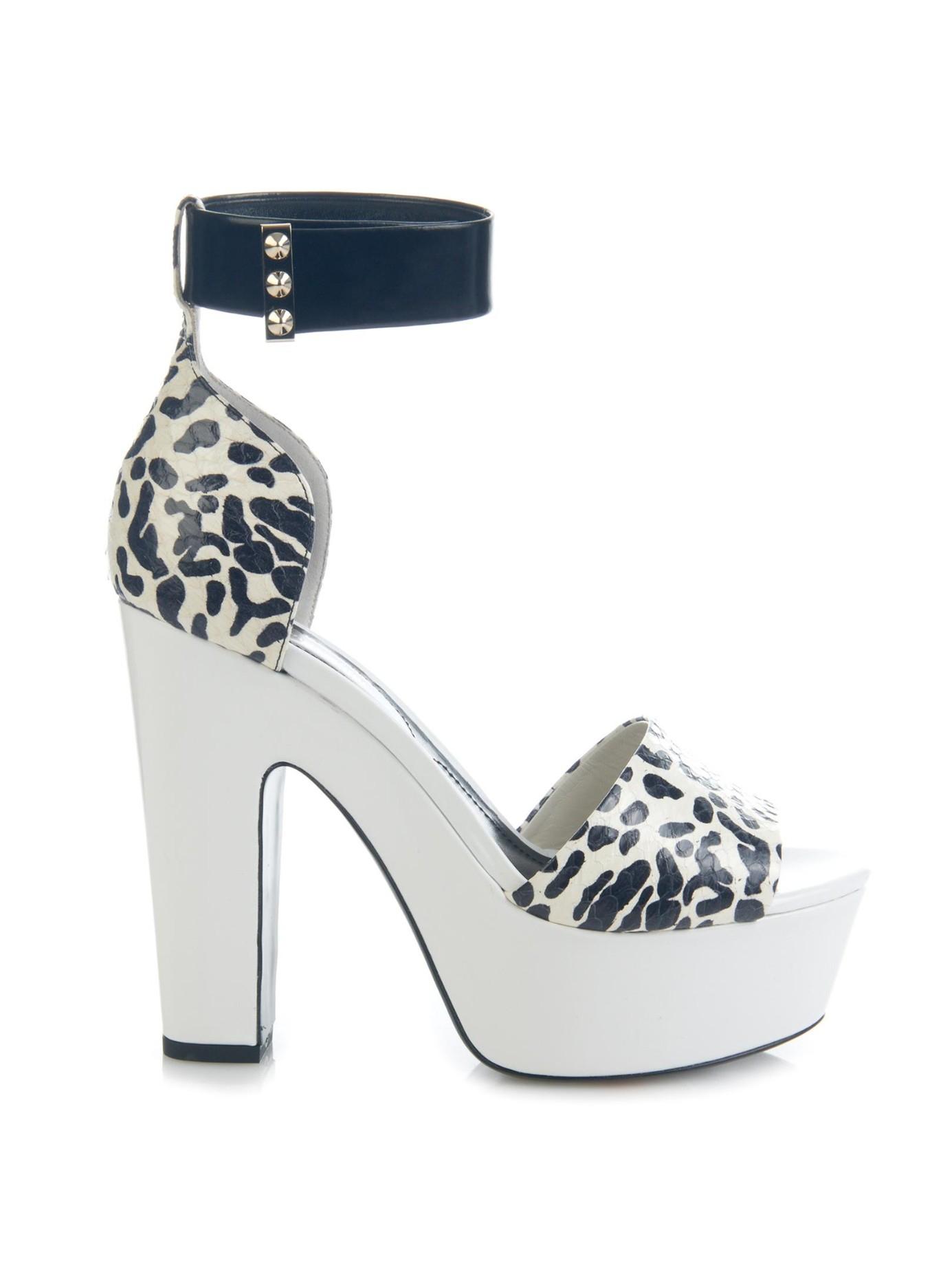 Nicholas Kirkwood Snakeskin Multistrap Sandals cheap sale wiki O9WPPPQt6