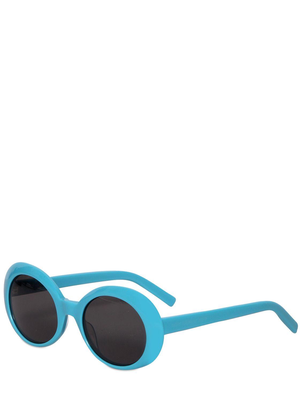 fef7789d5e16 Example of Saint Laurent Blue Sl 98