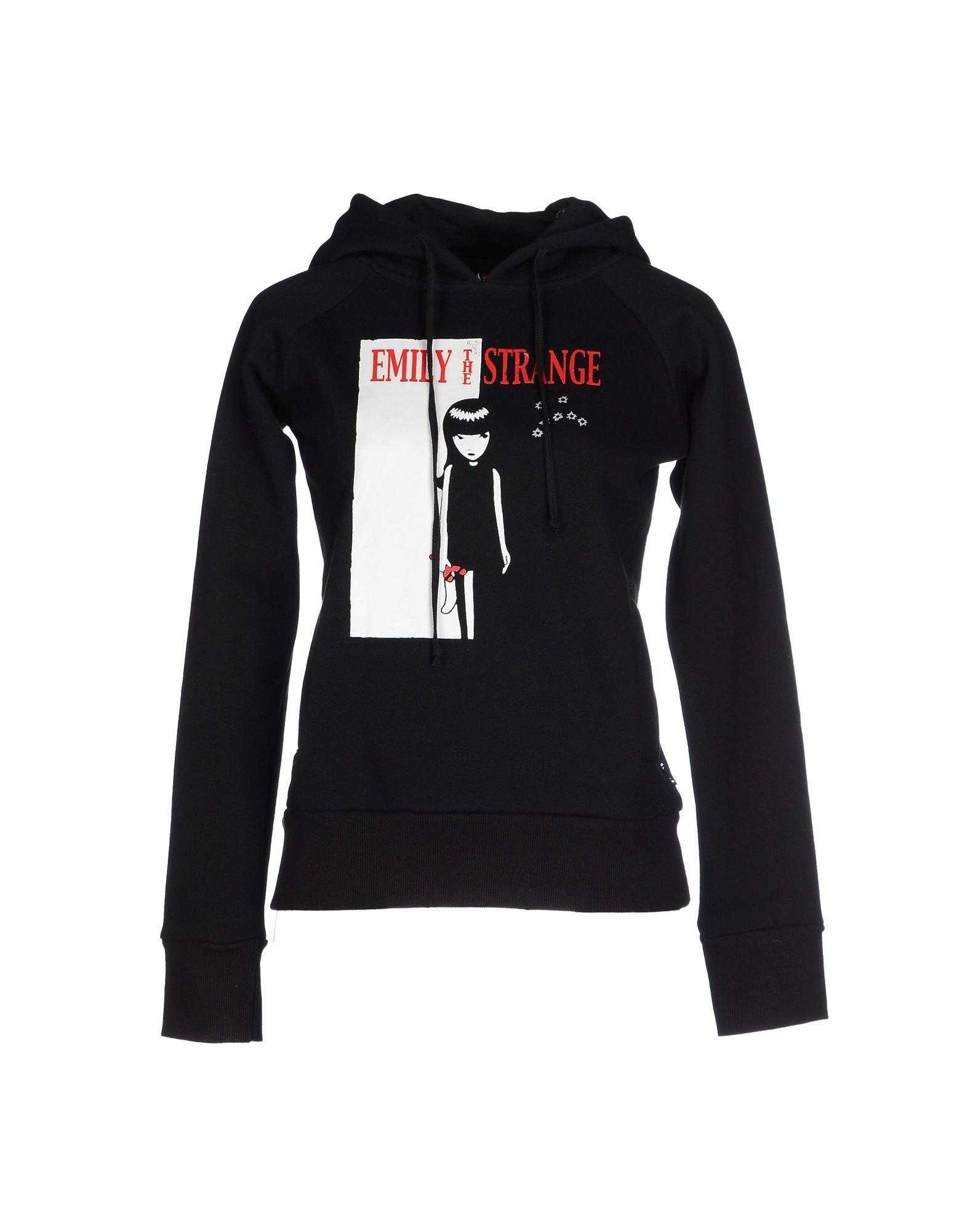 Emily The Strange Sweatshirt In Black Lyst