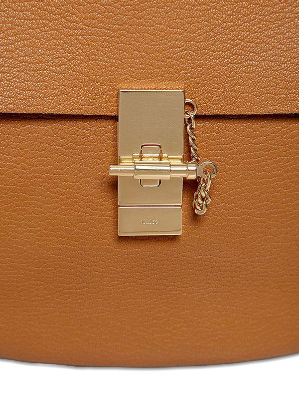 chloe replica purses - drew bag in embroidered grained goatskin