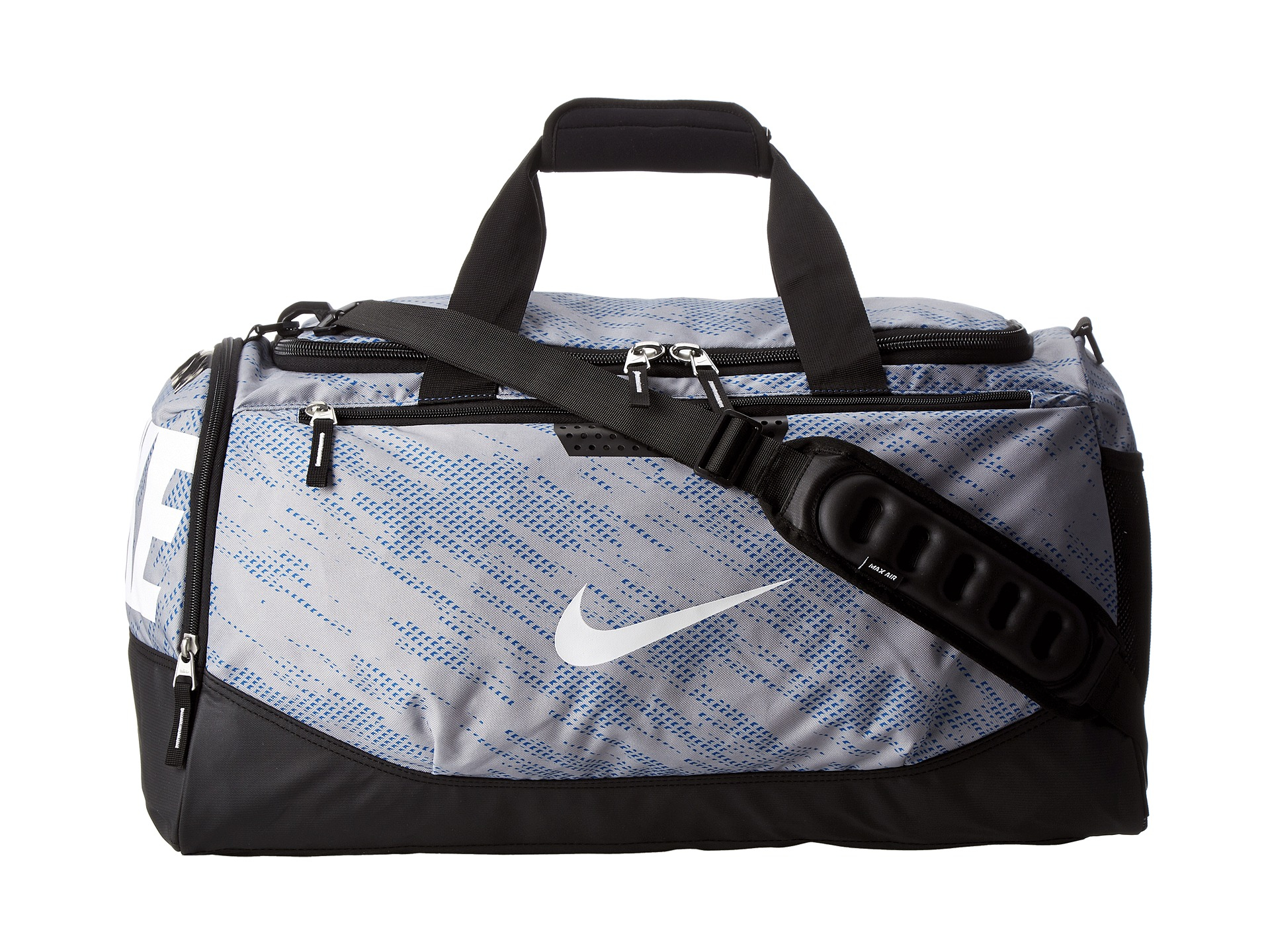 89a4e9c876 Lyst - Nike Team Training Max Air Medium Duffel Graphic in Blue