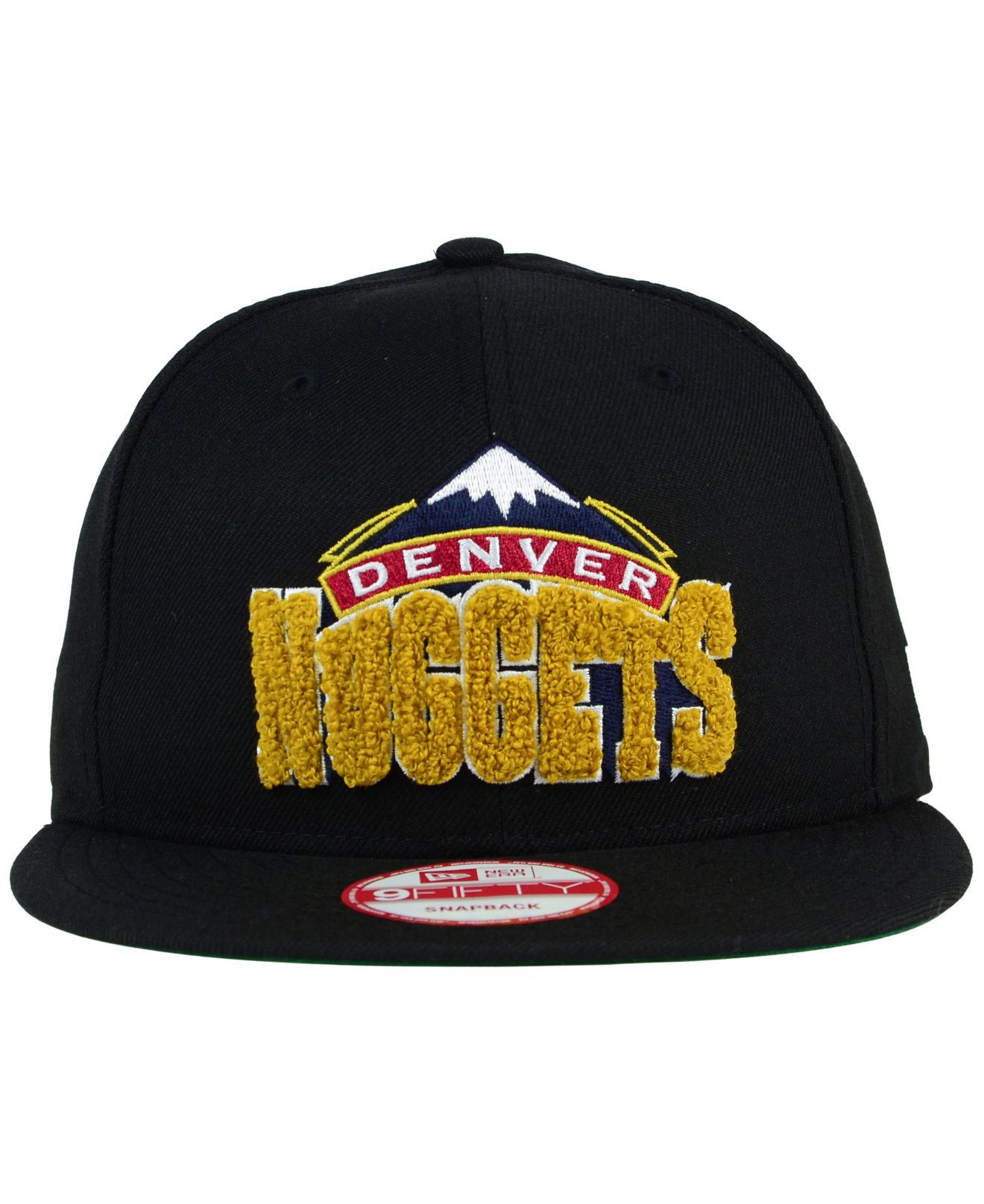 cheap for discount 4ead6 5203e ... hot ktz denver nuggets letter man 9fifty snapback cap in black for men  04174 58ab4