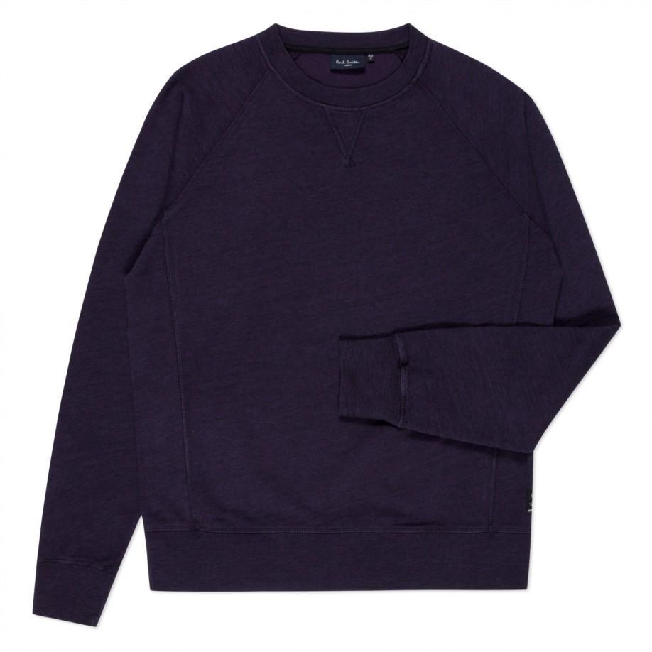 Paul smith Men's Dark Purple Loopback-cotton Sweatshirt in Purple ...