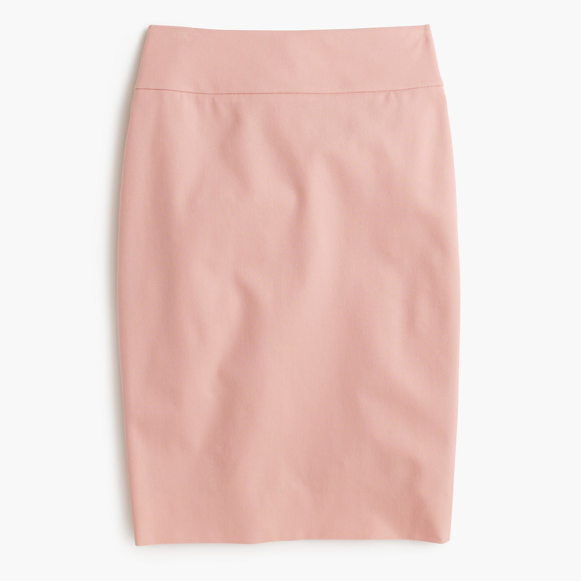 Stretch Cotton Skirt