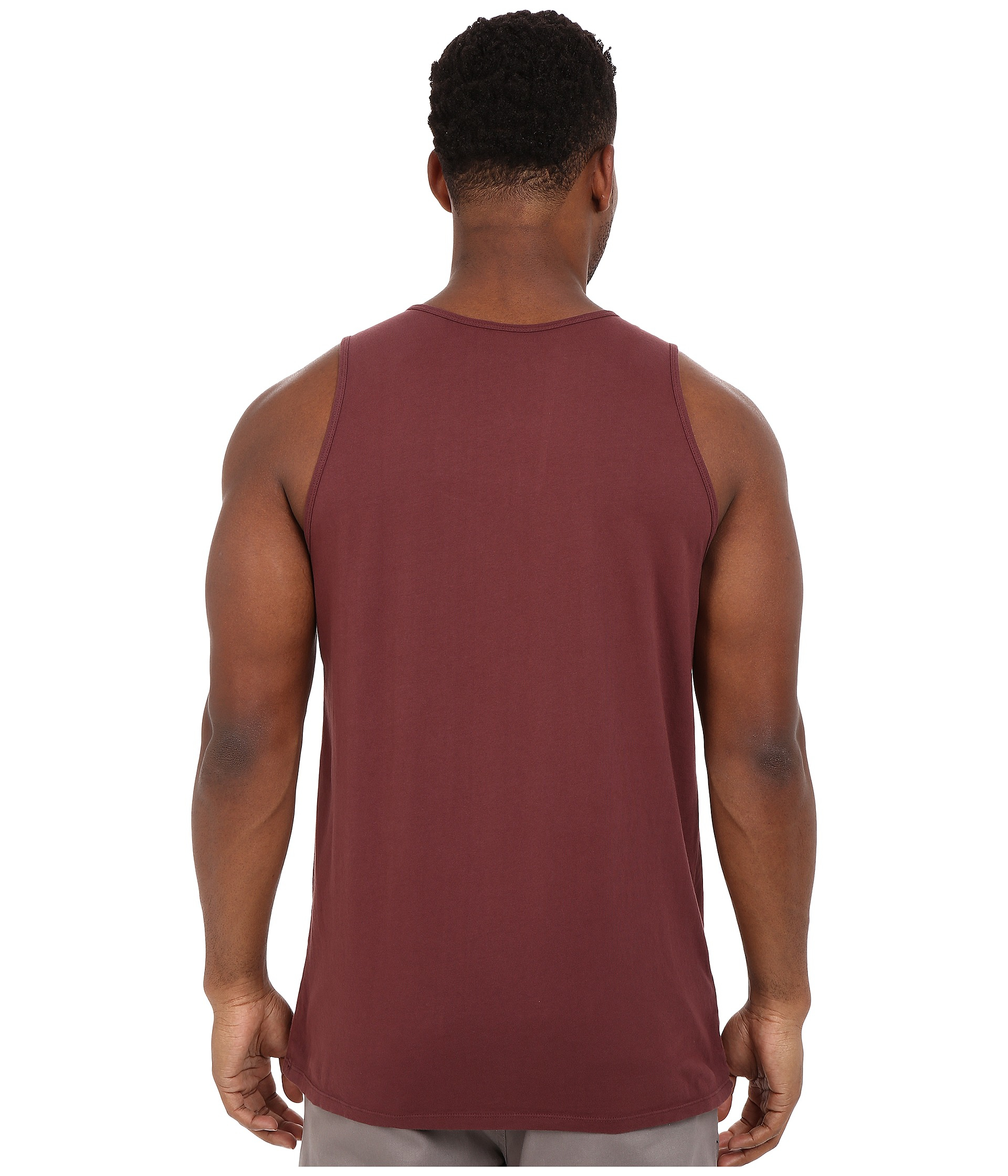 Rip curl Glory Custom Pocket Tank Top in Red for Men | Lyst