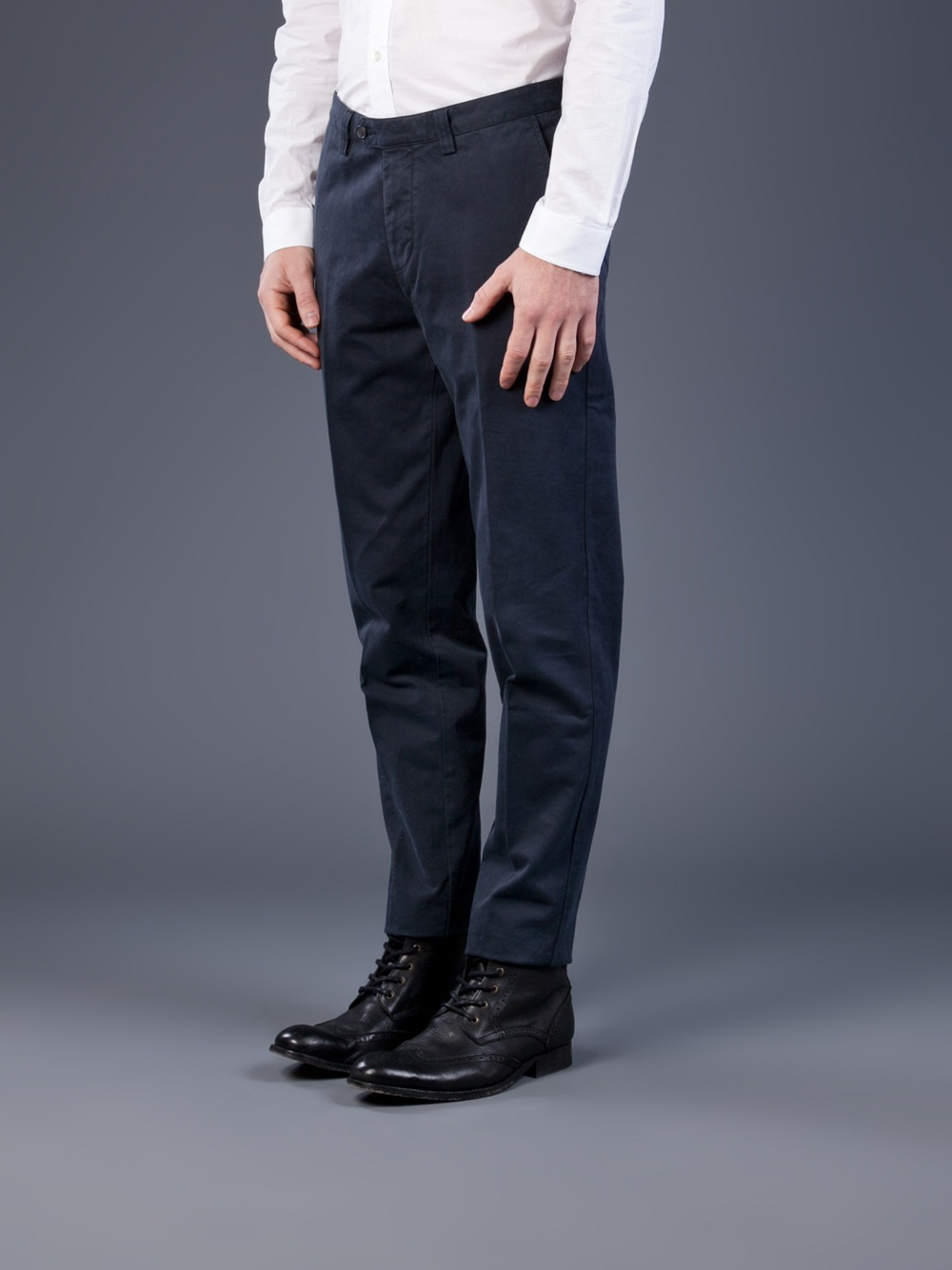 With Credit Card Cheap Online carrot fit trousers - Blue Ami Clearance Comfortable MMtiJ2PcC