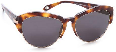 Bottom Rimless Glasses : Givenchy Rimless Bottom Sunglasses Dark Havanasmoke in ...