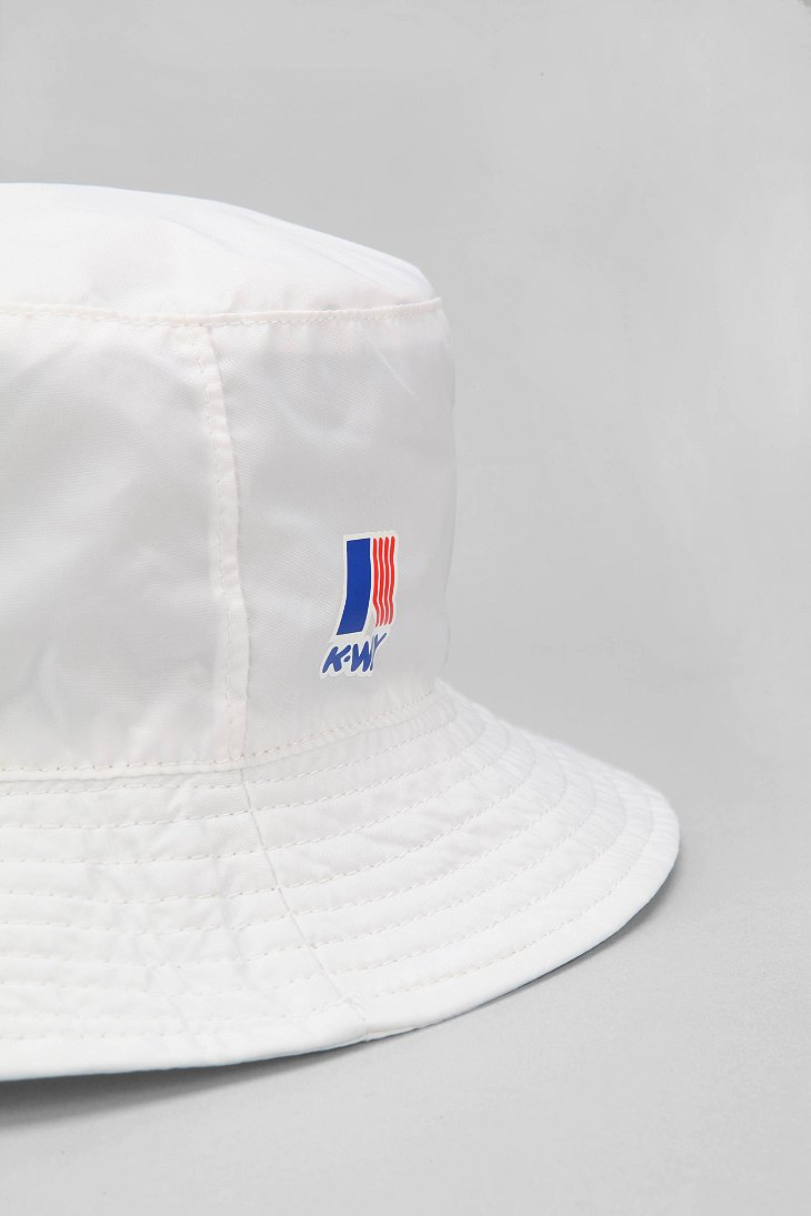 Lyst - Urban Outfitters K-Way Packable Bucket Hat in White for Men 4809c96c0cb