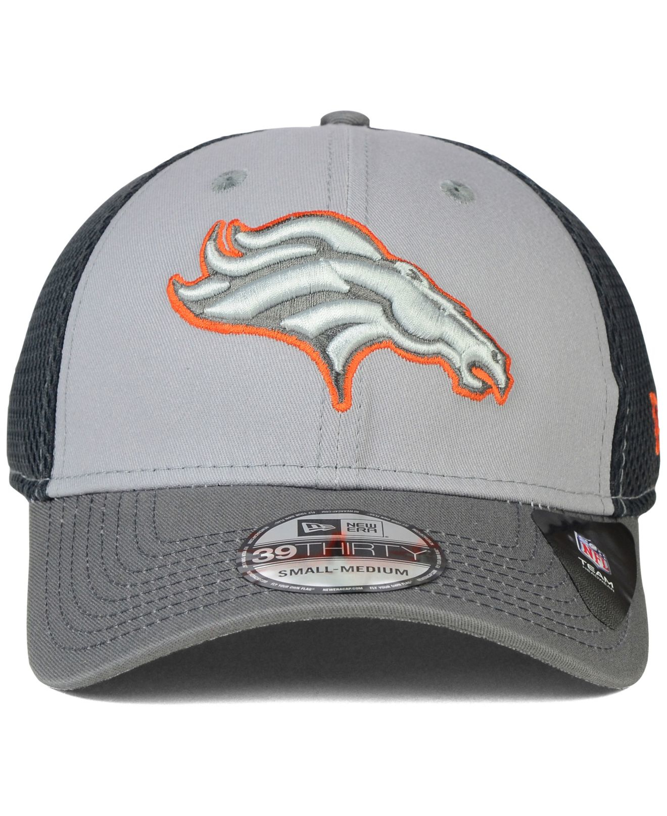 b8d75bcc Lyst - KTZ Denver Broncos Neo Flex 39thirty Cap in Gray for Men