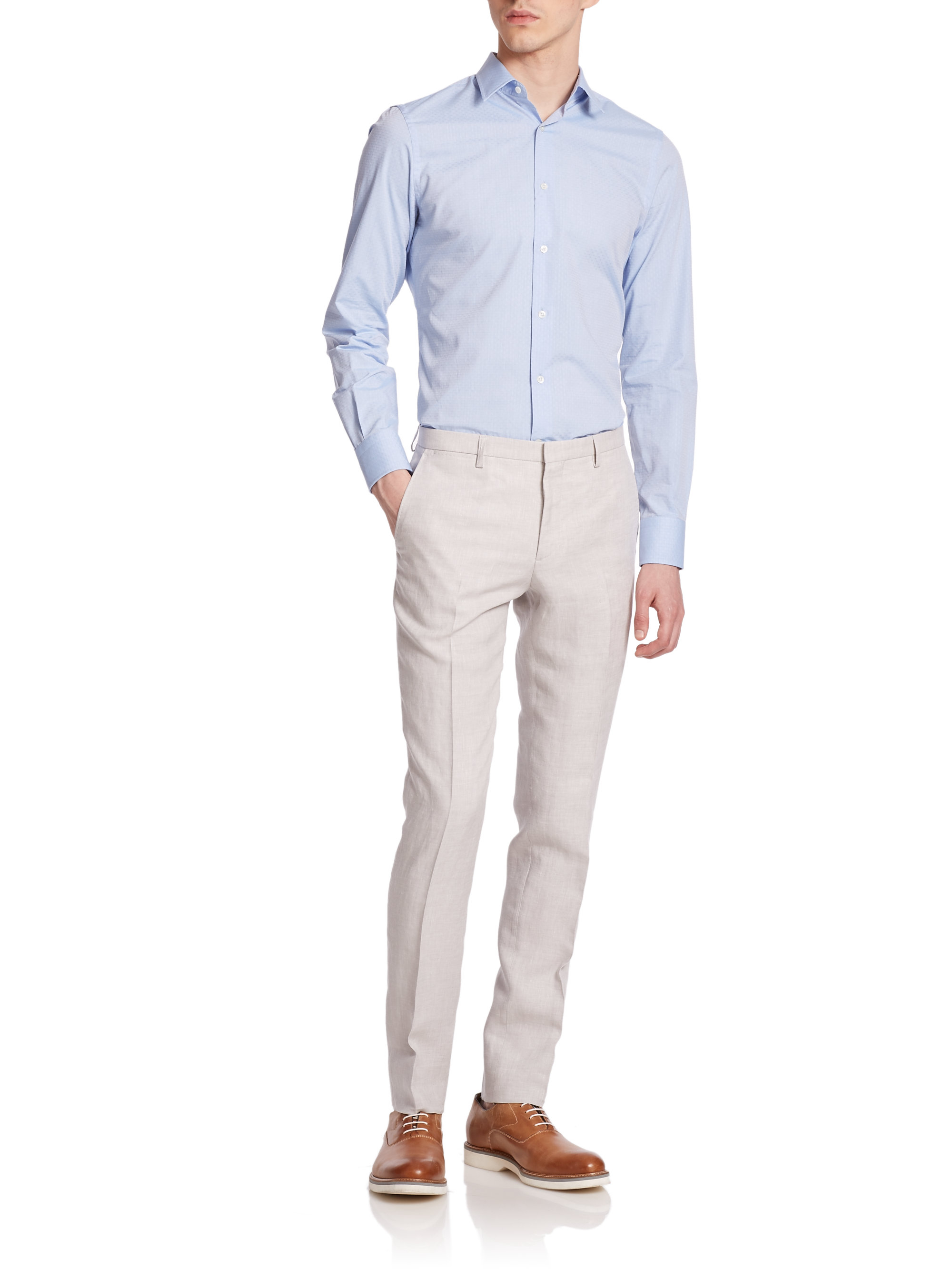 Mens Gray Pants at Macy's come in all styles and sizes. Shop Men's Pants: Dress Pants, Chinos, Khakis, Gray pants and more at Macy's! Macy's Presents: The Edit- A curated mix of fashion and inspiration Check It Out. BAR III Light Gray Chambray Slim-Fit Pants, Created for Macy's.