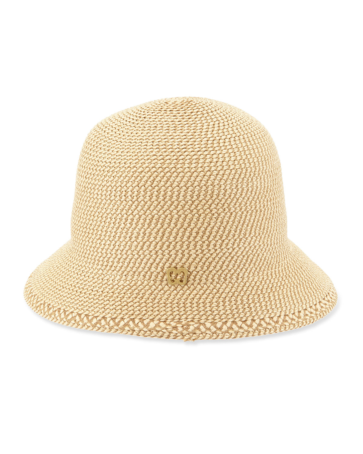 801116d9a7779 Eric Javits Squishee Bucket Woven Hat in Natural - Lyst