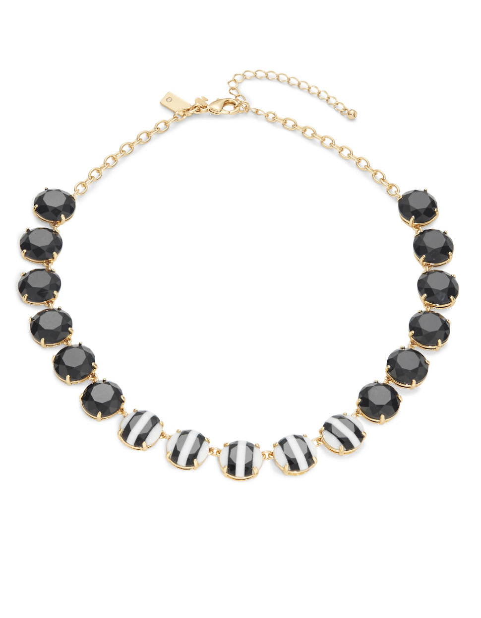 kate spade new york the right stripe collar necklace in. Black Bedroom Furniture Sets. Home Design Ideas
