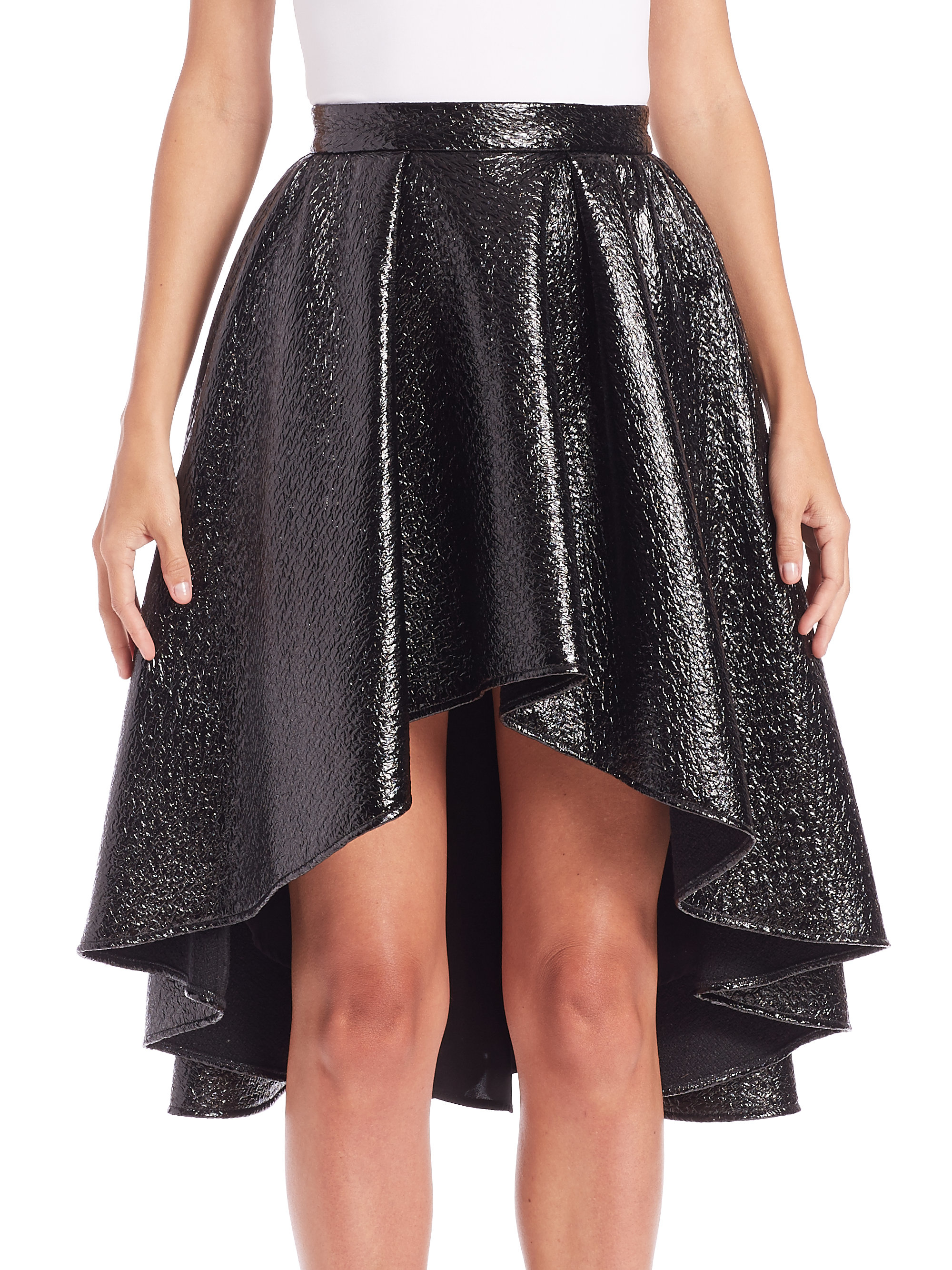 Find black hi lo skirt at ShopStyle. Shop the latest collection of black hi lo skirt from the most popular stores - all in one place.