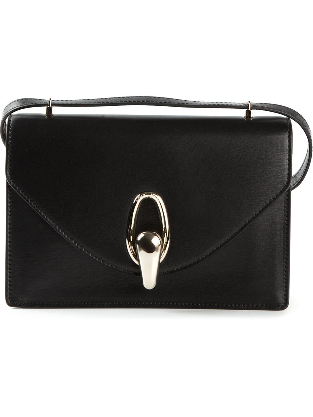 Lyst - Giorgio Armani Small Cross Body Bag in Black 5c65fbe392