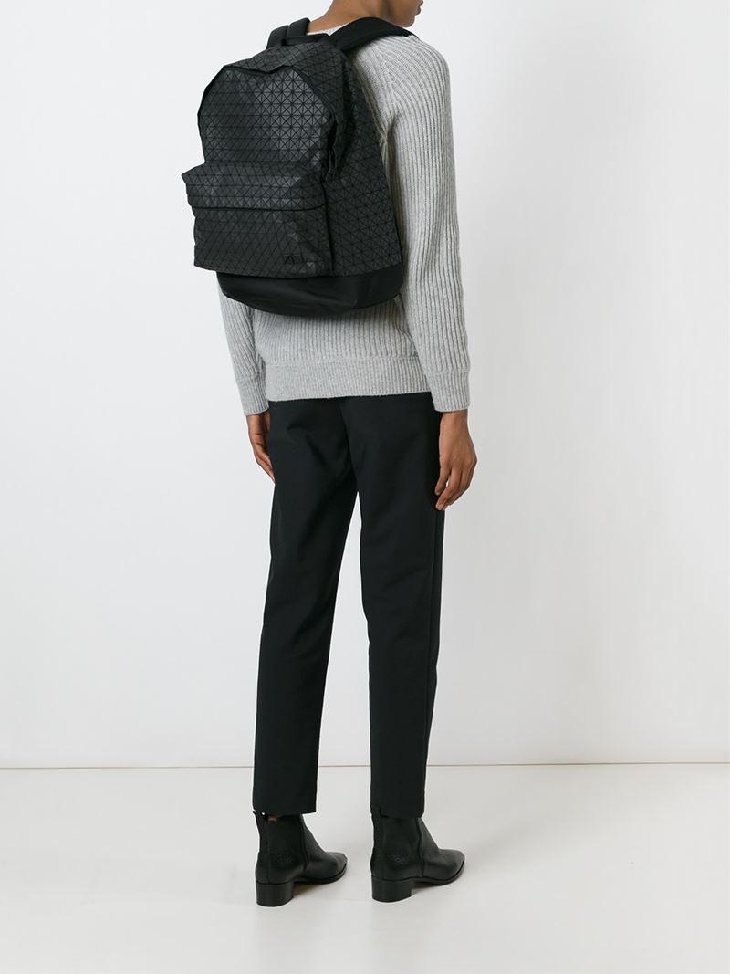 6e6fc35e2c99 Lyst - Bao Bao Issey Miyake  daypack  Backpack in Black