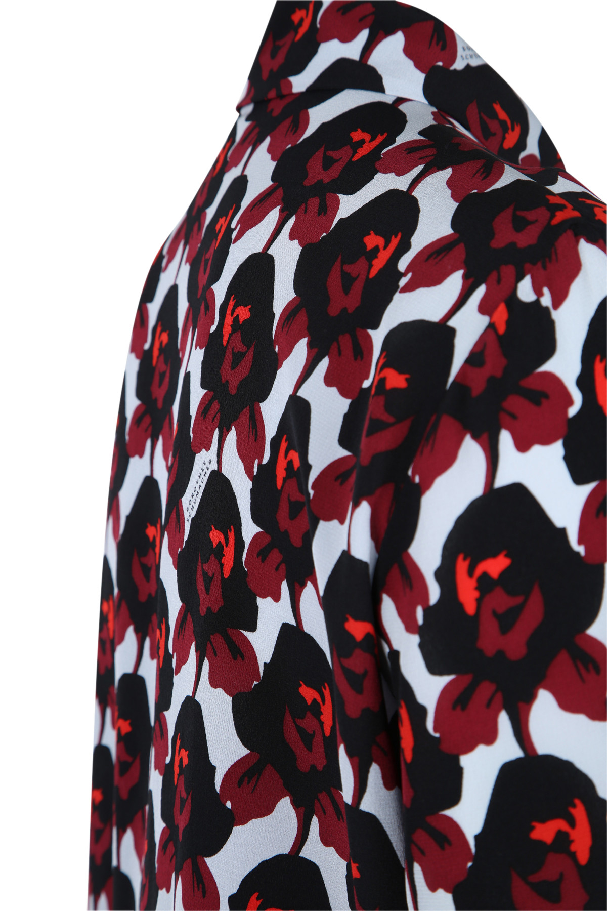 dorothee schumacher radical flower blouse 1 1 in red raspberry red flower lyst. Black Bedroom Furniture Sets. Home Design Ideas