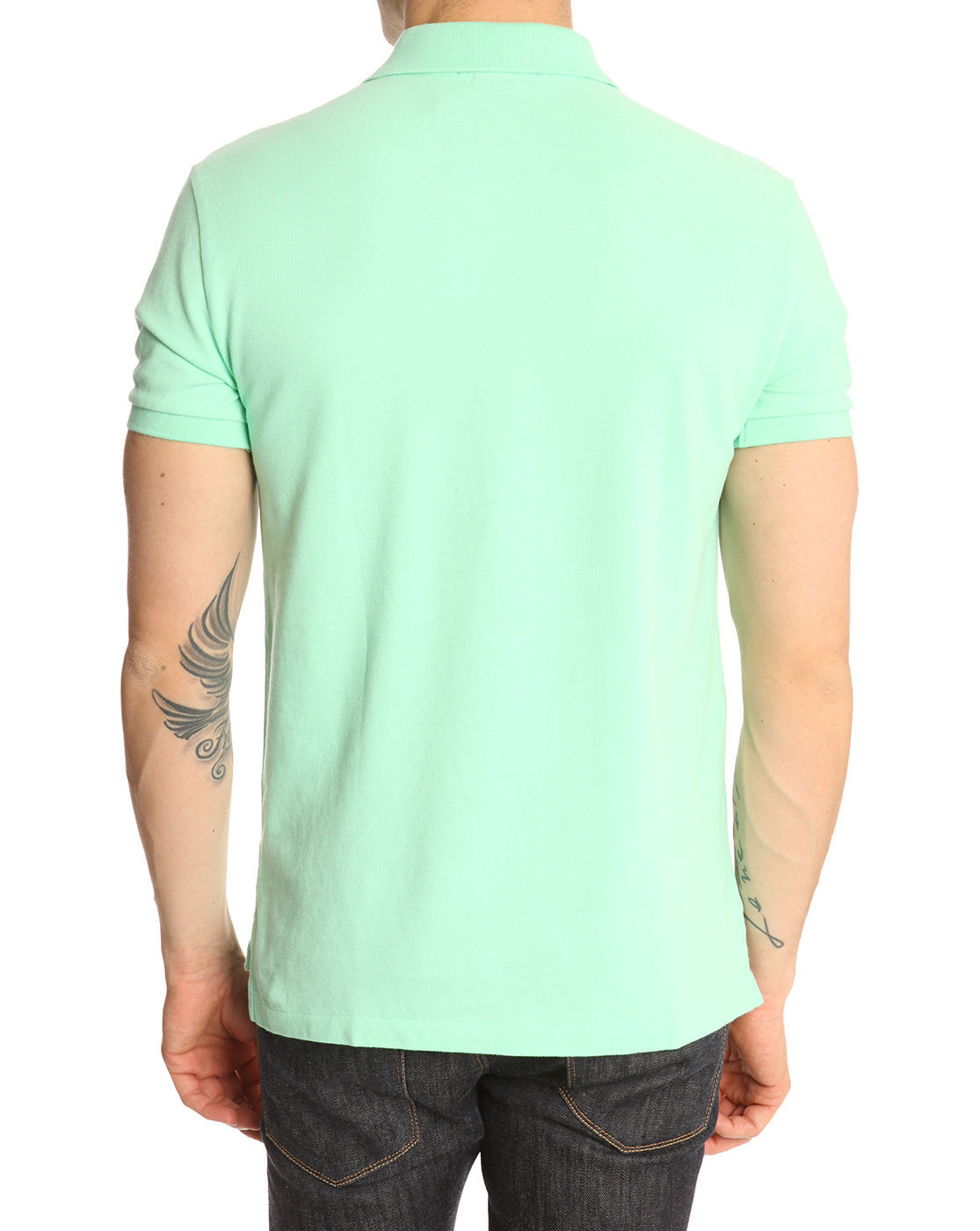 Polo ralph lauren Mint Green Slimfit Polo Shirt in Green ...