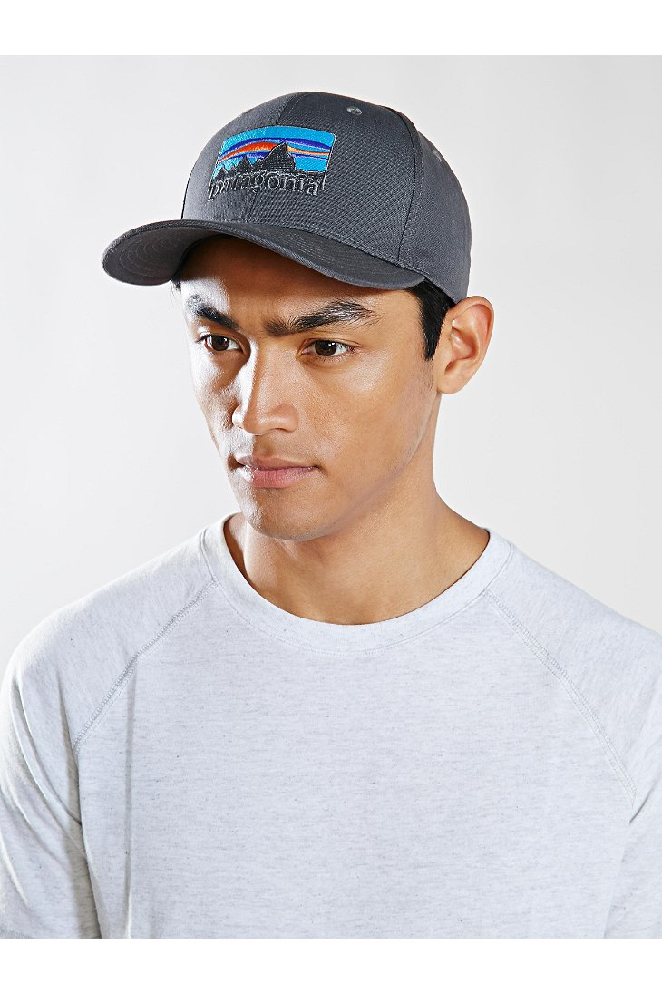 Lyst - Patagonia 73 Logo Roger That Hat in Gray for Men 8f1c8089518