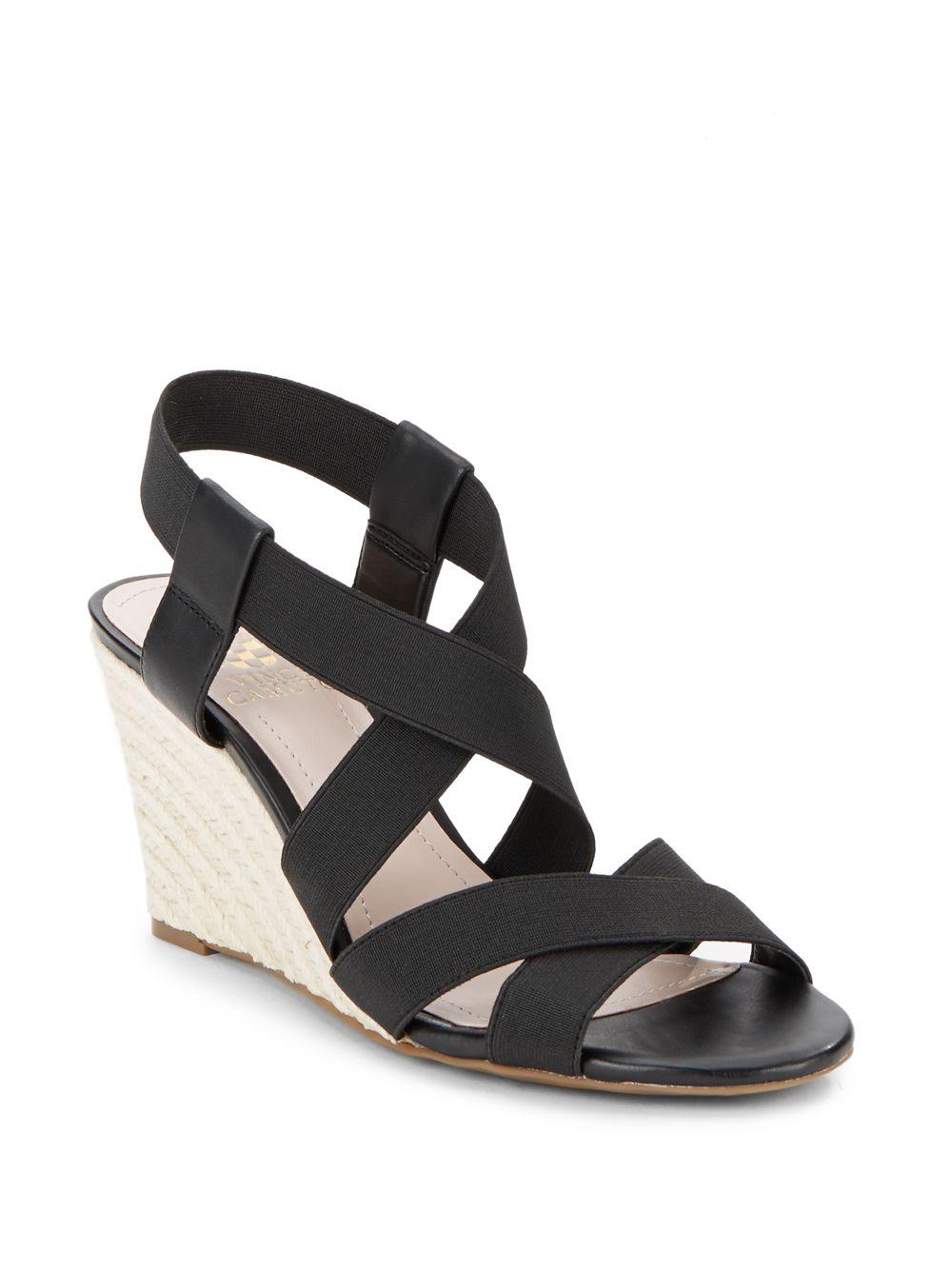 Vince Camuto Hadassa Strappy Espadrille Wedge Sandals In