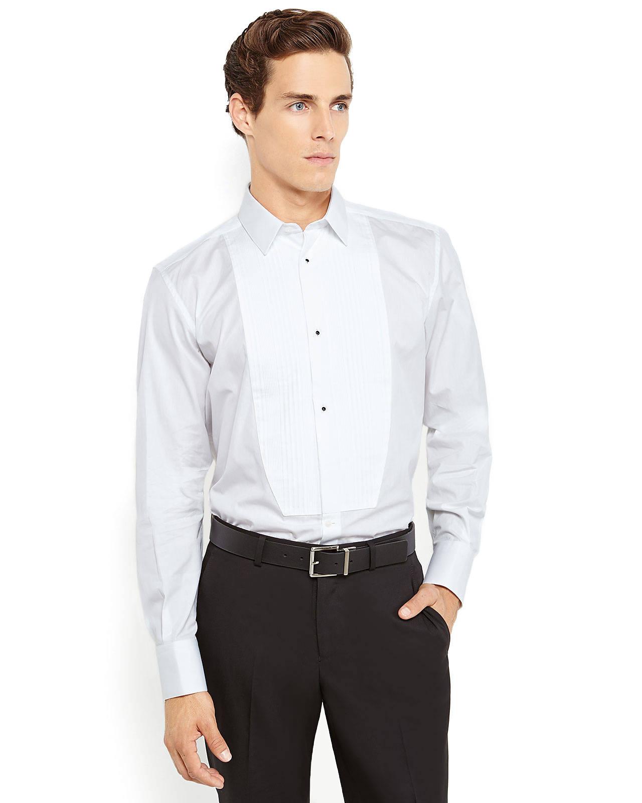 Dolce gabbana dolcegabbana martini tuxedo bib dress for Century 21 dress shirts