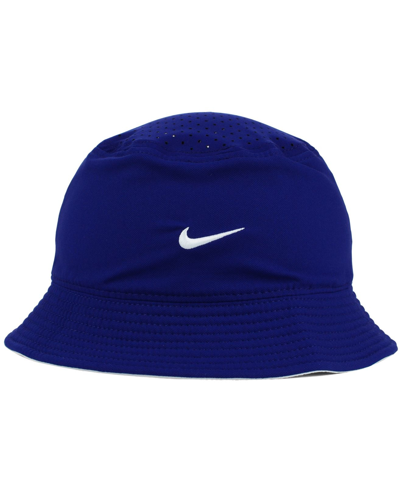 10c6d7c9 ... discount code for lyst nike los angeles dodgers vapor dri fit bucket hat  in blue for