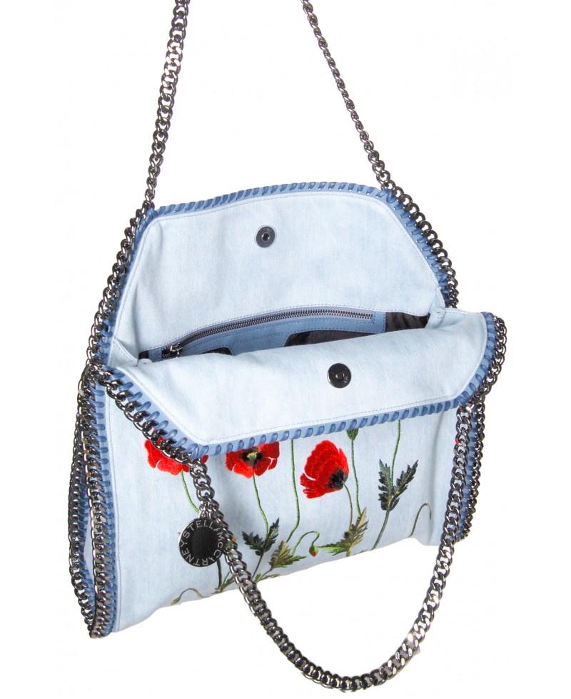 Stella McCartney Stella Mccartney Denim Bag Falabella Bag - New xkUvDEKbOR