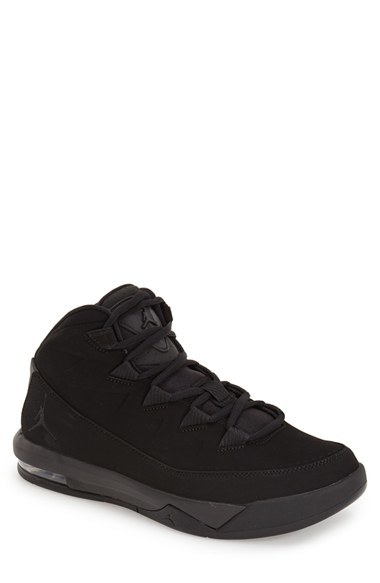 Jordan Black Anthracite Air Deluxe Shoes