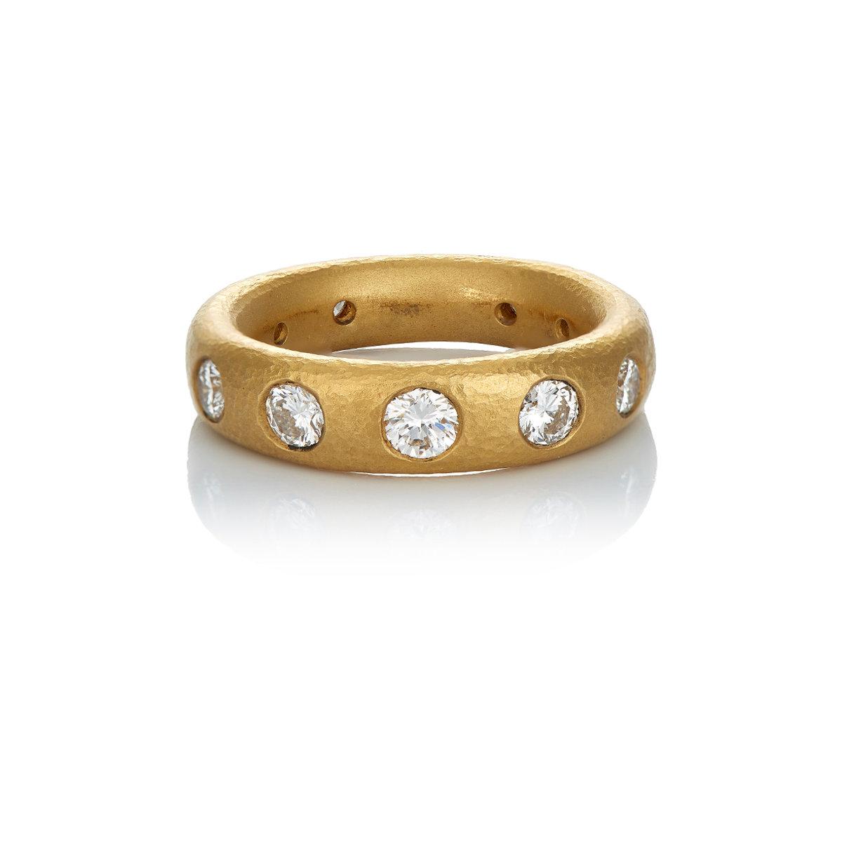 Lyst Linda Lee Johnson Norma Ring In Metallic