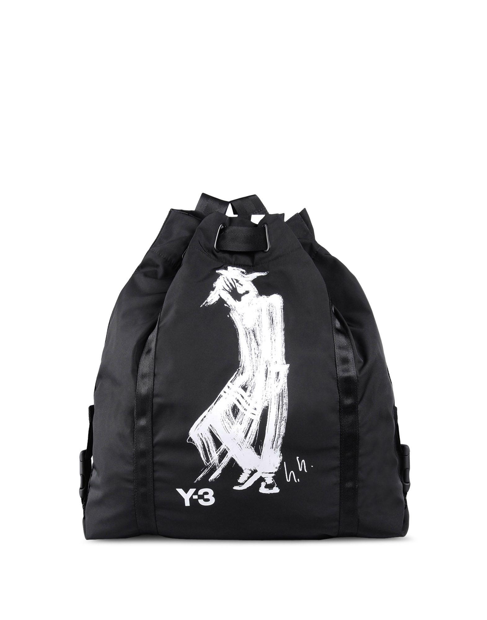 33f8b1c23da8 Lyst - Y-3 Printed Backpack in Black for Men