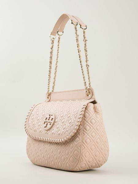 Pink Quilted Shoulder Bag 81