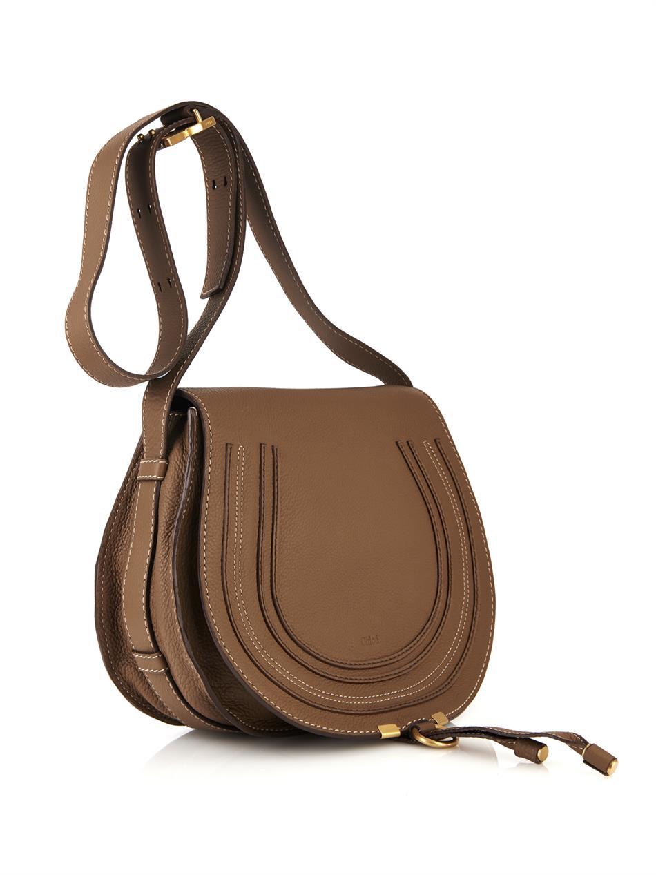 discount chloe bags - Chlo¨¦ Marcie Medium Calf-Leather Cross-Body Bag fd754ba66379f