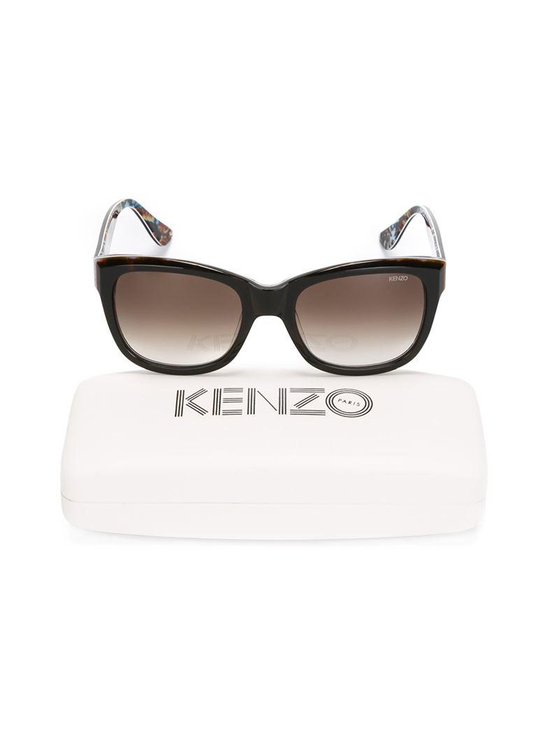48e6be0873a8 Gallery. Previously sold at: Farfetch · Women's Cat Eye Sunglasses Women's  Kenzo Eye