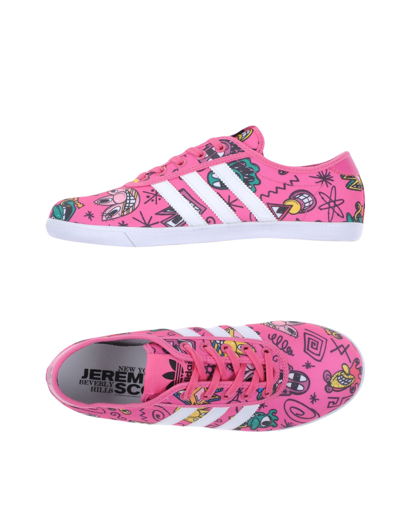 46f1b5ba53de Lyst - Jeremy Scott for adidas Low-tops   Trainers in Pink for Men