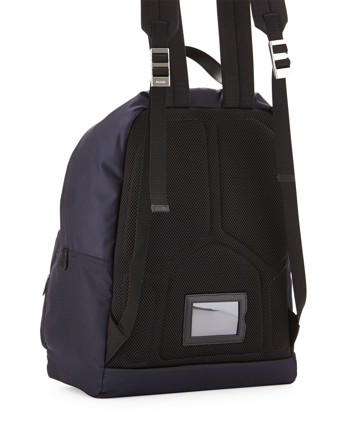 2ad5bf6123ae28 ... good lyst prada zaino mens clean nylon backpack in blue for men d1a64  5961f