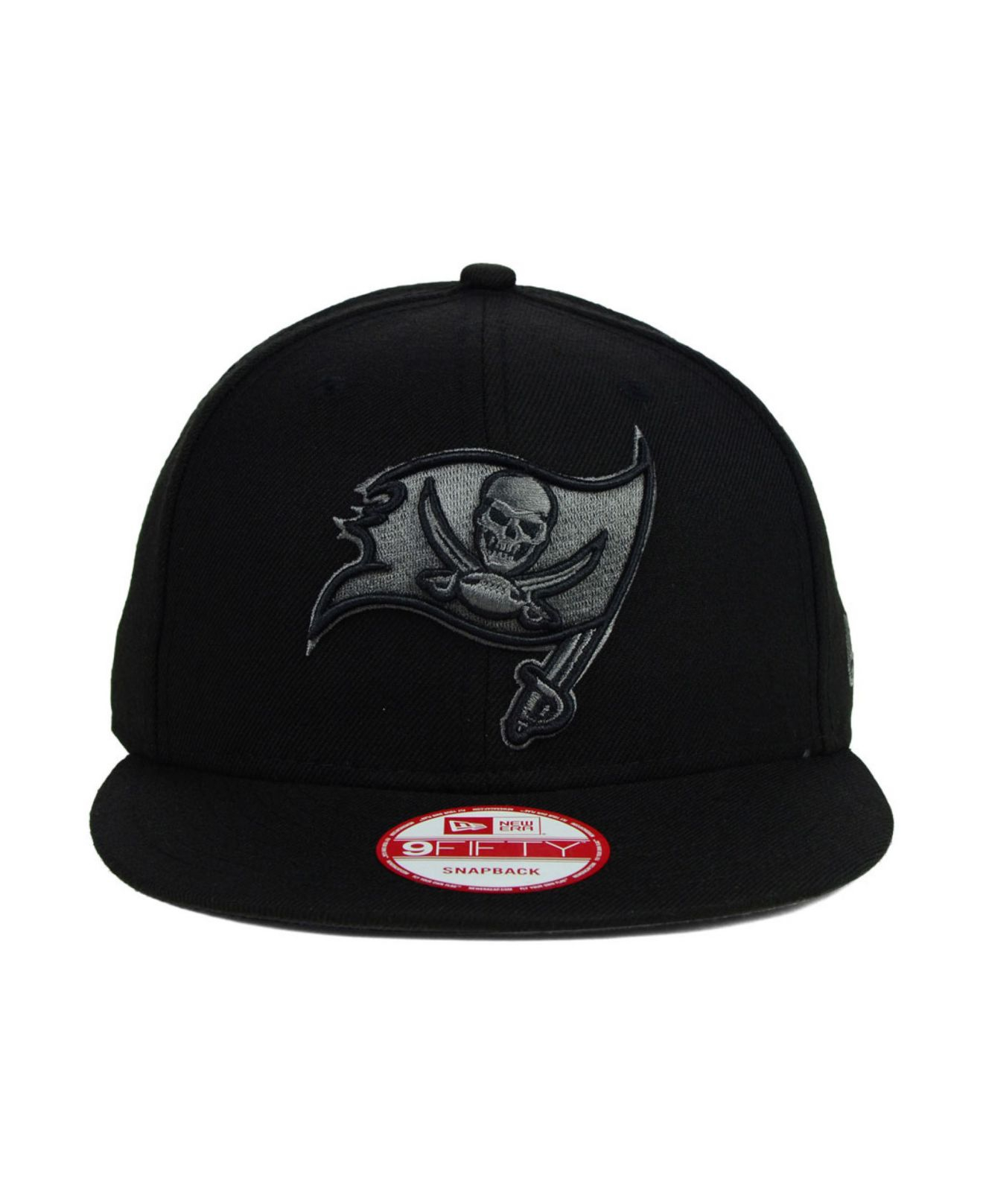 low priced ff072 5f9fd ... release date lyst ktz tampa bay buccaneers black gray 9fifty snapback  cap in d66b3 551c3
