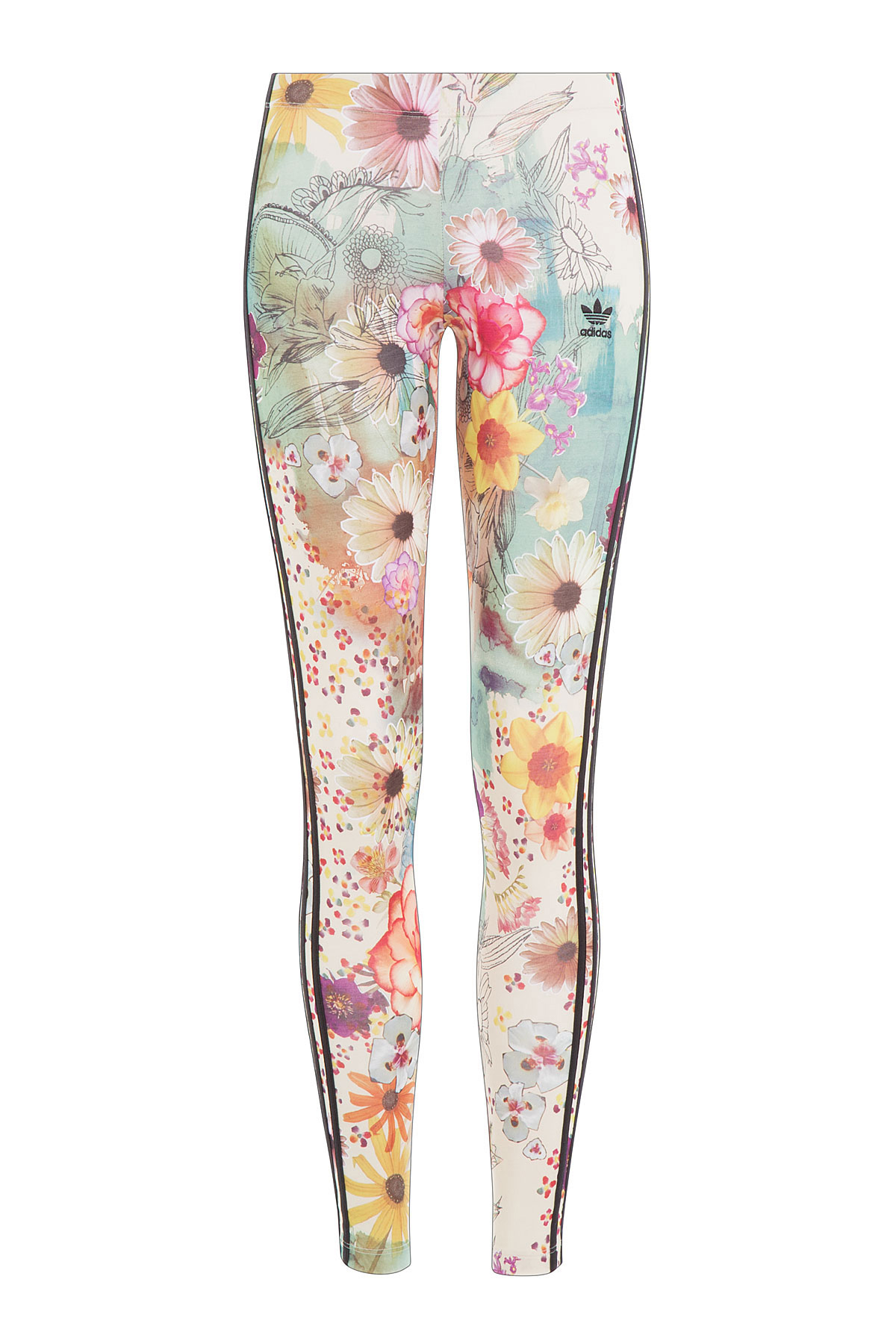 16e00cc07f524 adidas Originals Floral Print Leggings - Multicolor - Lyst