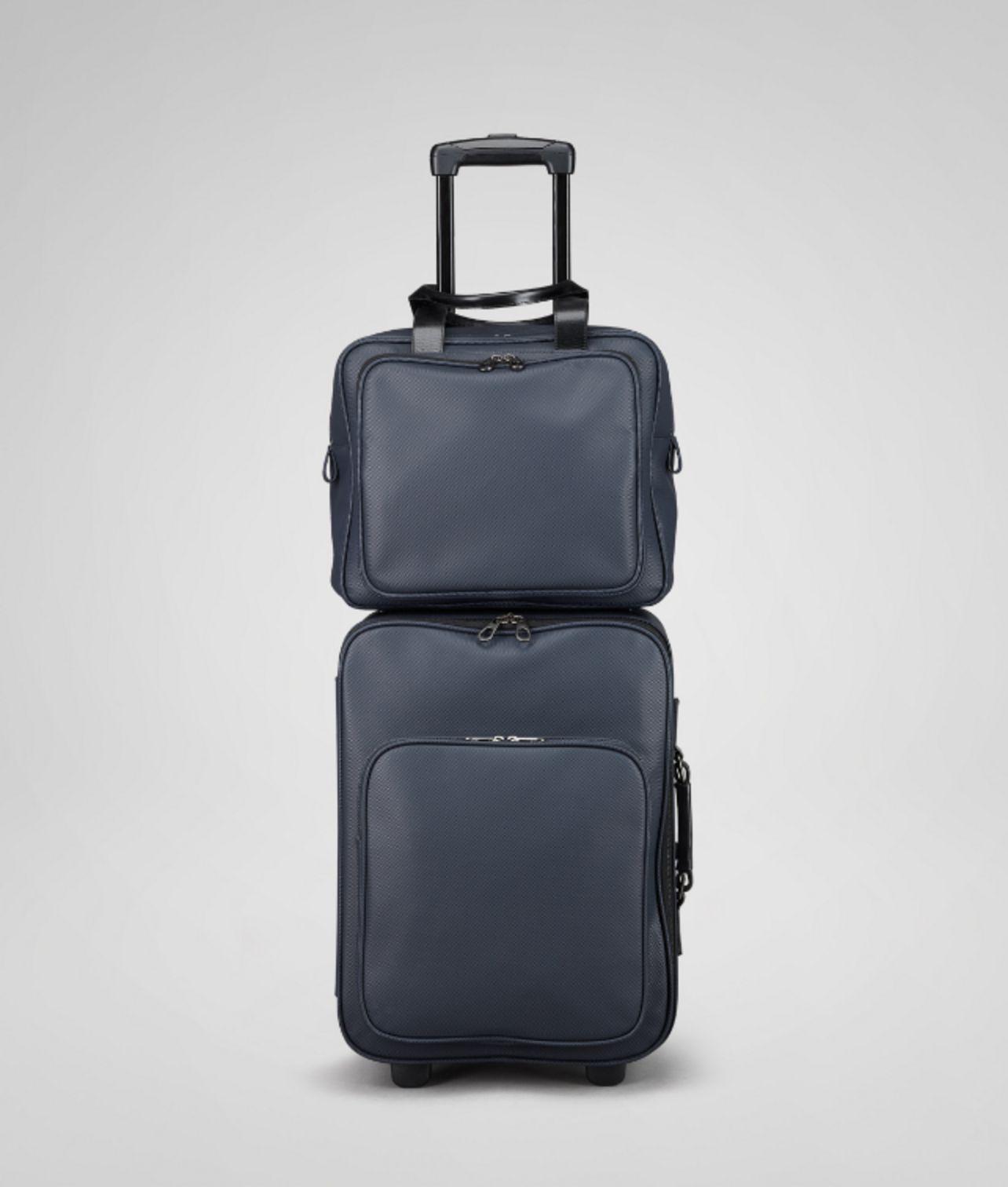 a50bc440390 Lyst - Bottega Veneta Dark Navy Marcopolo Carry On Bag in Blue