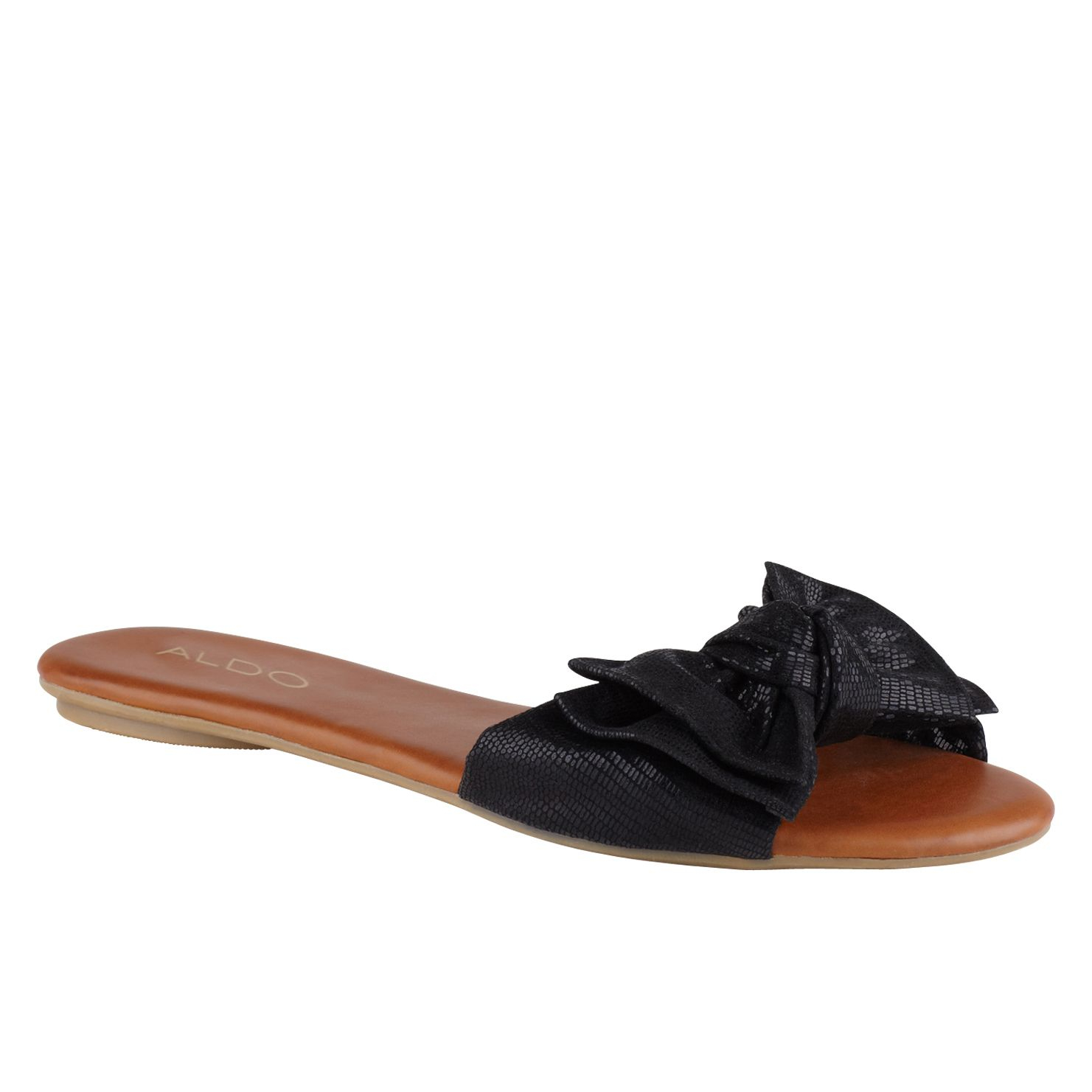 Black Flat Jelly Shoes