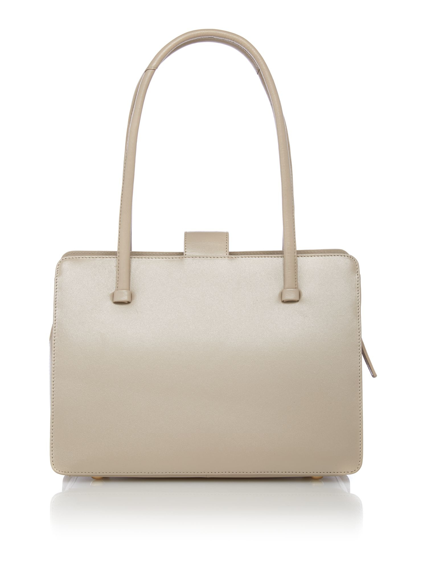 Radley Saville Row Large Neutral Shoulder Bag in Natural | Lyst