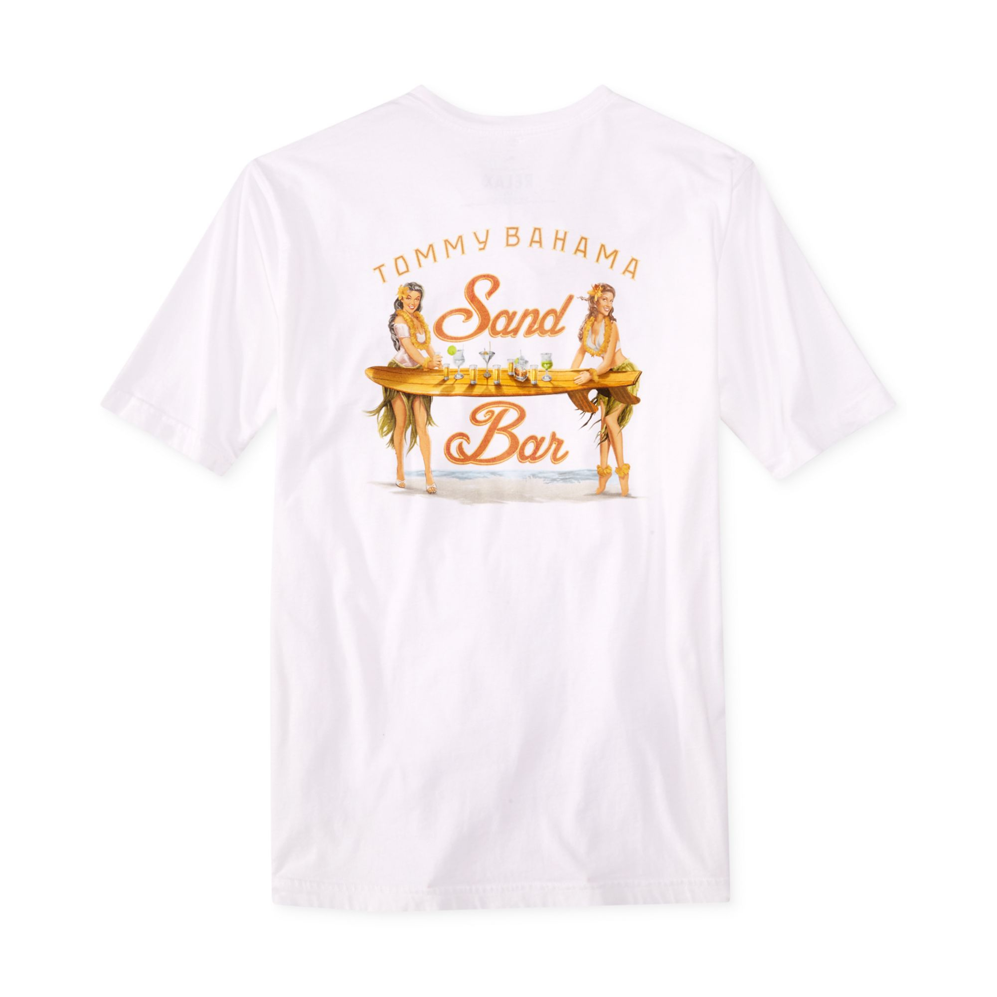 Lyst tommy bahama sand bar tshirt in white for men for Tommy bahama christmas shirt 2014