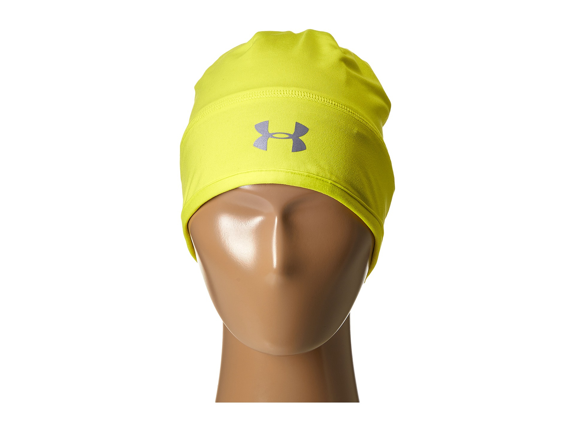 8bfbffba73e ... lyst under armour ua layered up beanie in metallic 2da12 048b0 purchase  under armour mens coldgear infrared emboss run beanie blue jet 405  reflective ...