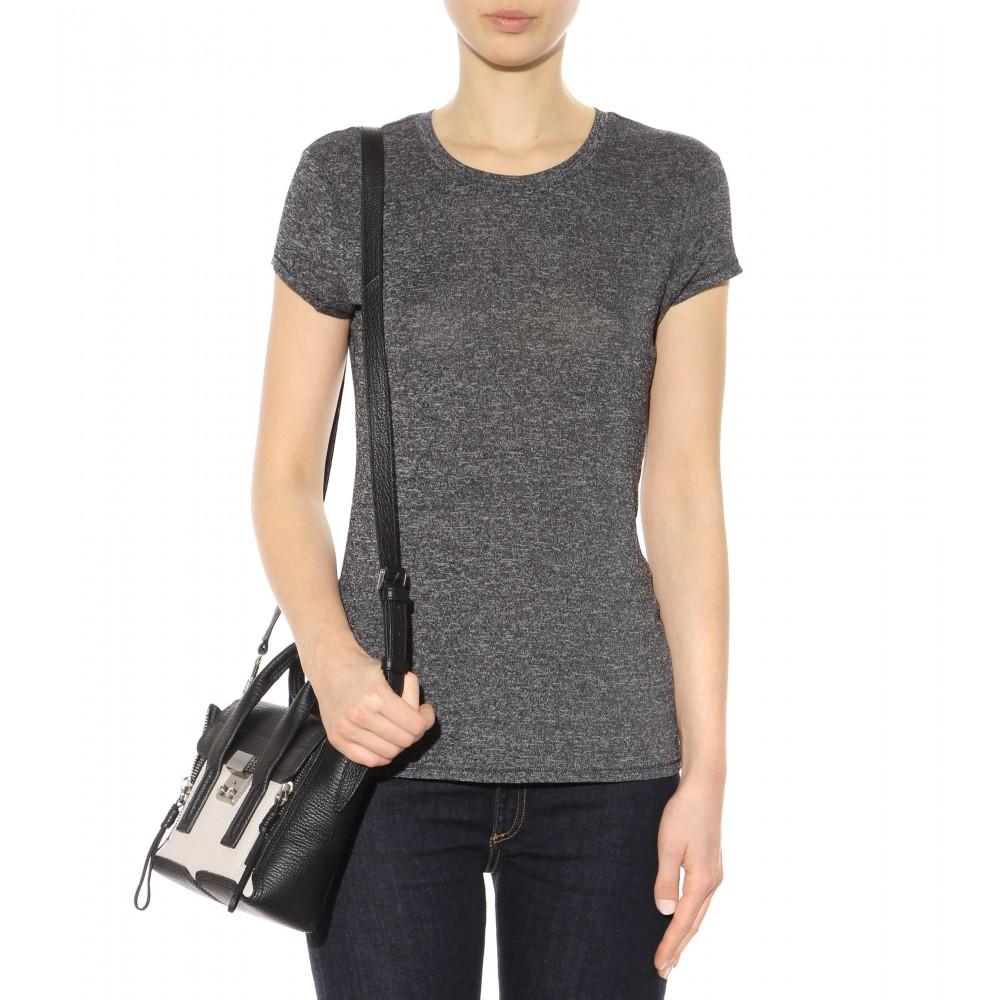 Rag bone classic t shirt in gray lyst for Rag and bone t shirts