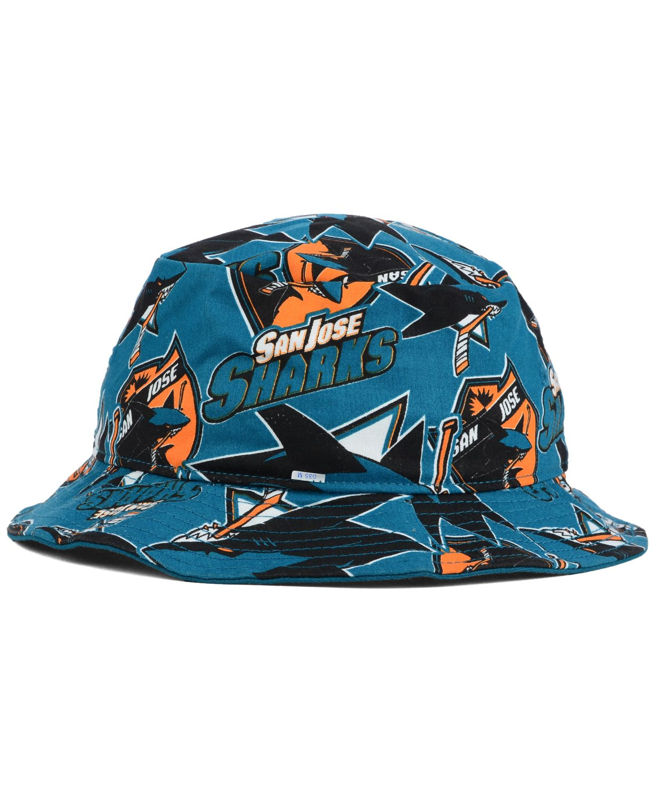 fb8ad73e882 Lyst - 47 Brand San Jose Sharks Bucket Hat in Blue