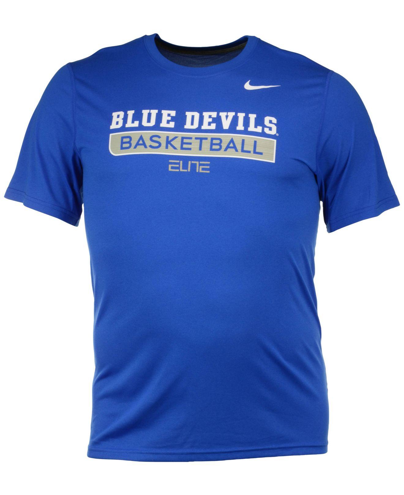 Lyst Nike Men 39 S Duke Blue Devils Elite Basketball