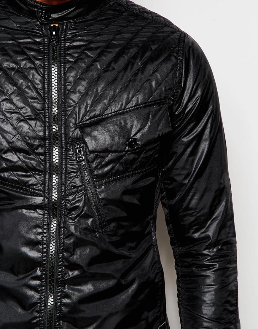 g star raw quilted overshirt jacket exclusive to asos 5620. Black Bedroom Furniture Sets. Home Design Ideas