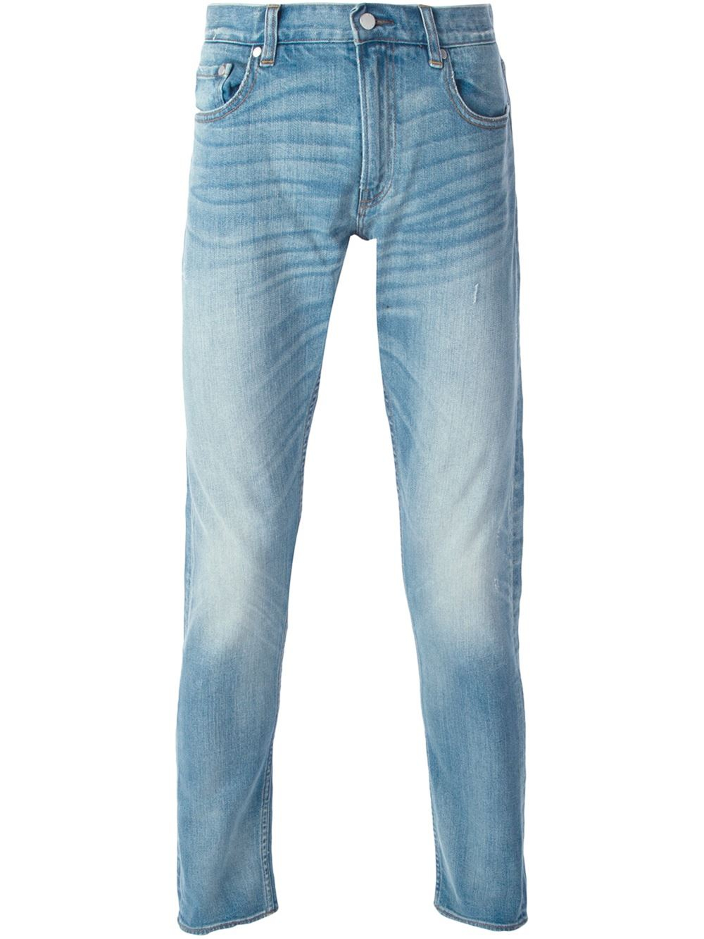 michael kors skinny jeans in blue for men save 10 lyst. Black Bedroom Furniture Sets. Home Design Ideas