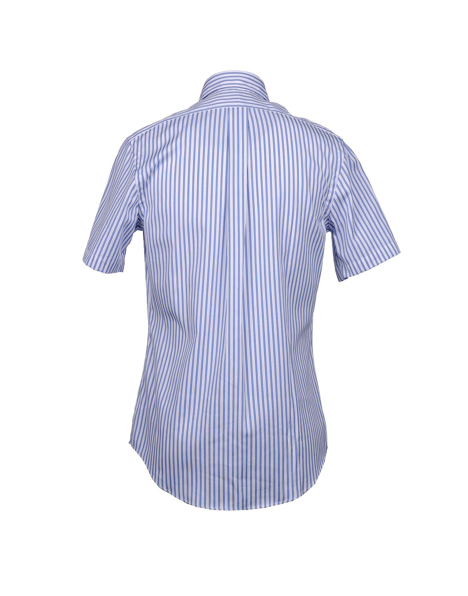 Polo Ralph Lauren Short Sleeve Shirt In Blue For Men