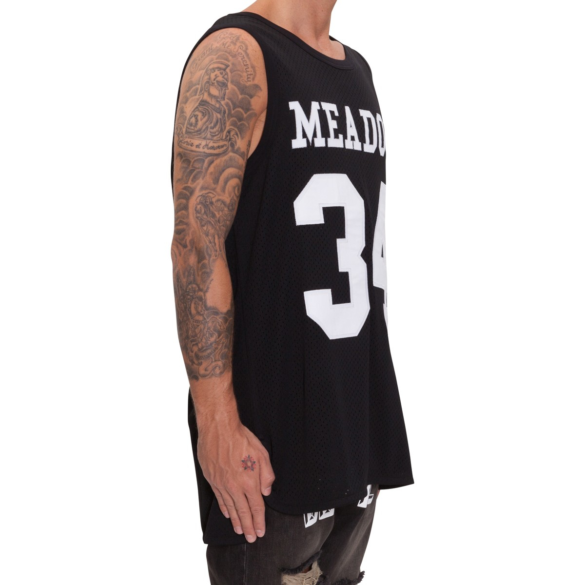 Lyst Off White Co Virgil Abloh Meadows Heights Tank Top In Black