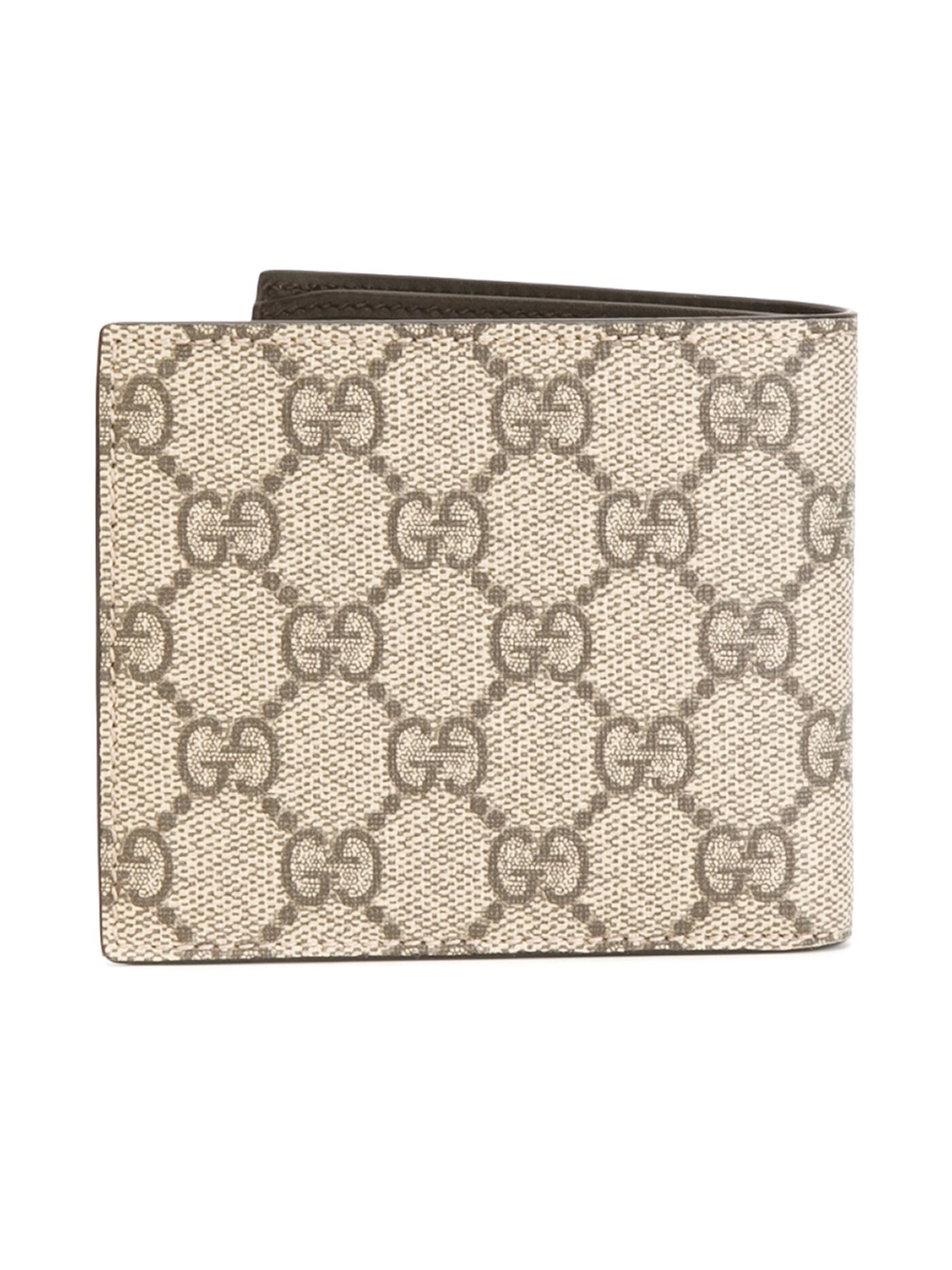 86430a053aeb Gucci Gg Supreme Wallet in Natural for Men - Lyst