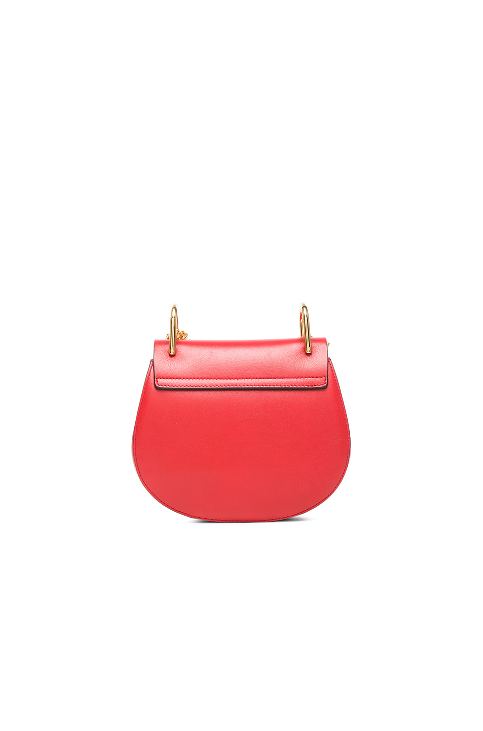 chloe pink leather and suede mini drew saddle bag see by. Black Bedroom Furniture Sets. Home Design Ideas
